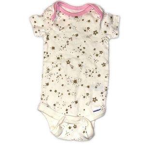 5/$10 Gerber Baby Girl Bodysuit 0-3M